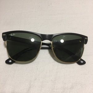 Ray Ban Clubmaster Oversized Sunglasses